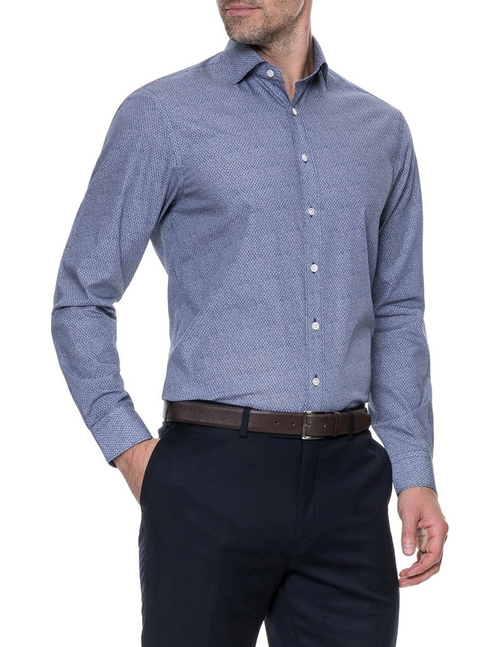 LP3116 Waithman Long Sleeve Tailored Shirt Navy image 2