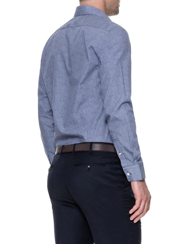 LP3116 Waithman Long Sleeve Tailored Shirt Navy image 3