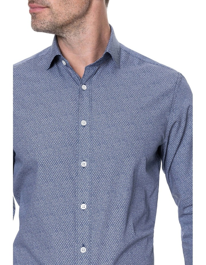 LP3116 Waithman Long Sleeve Tailored Shirt Navy image 4