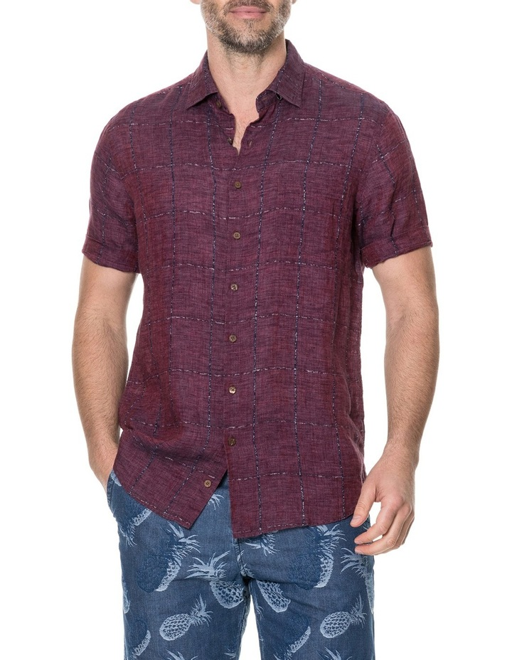 Saddleback Short Sleeve Shirt - Port image 1