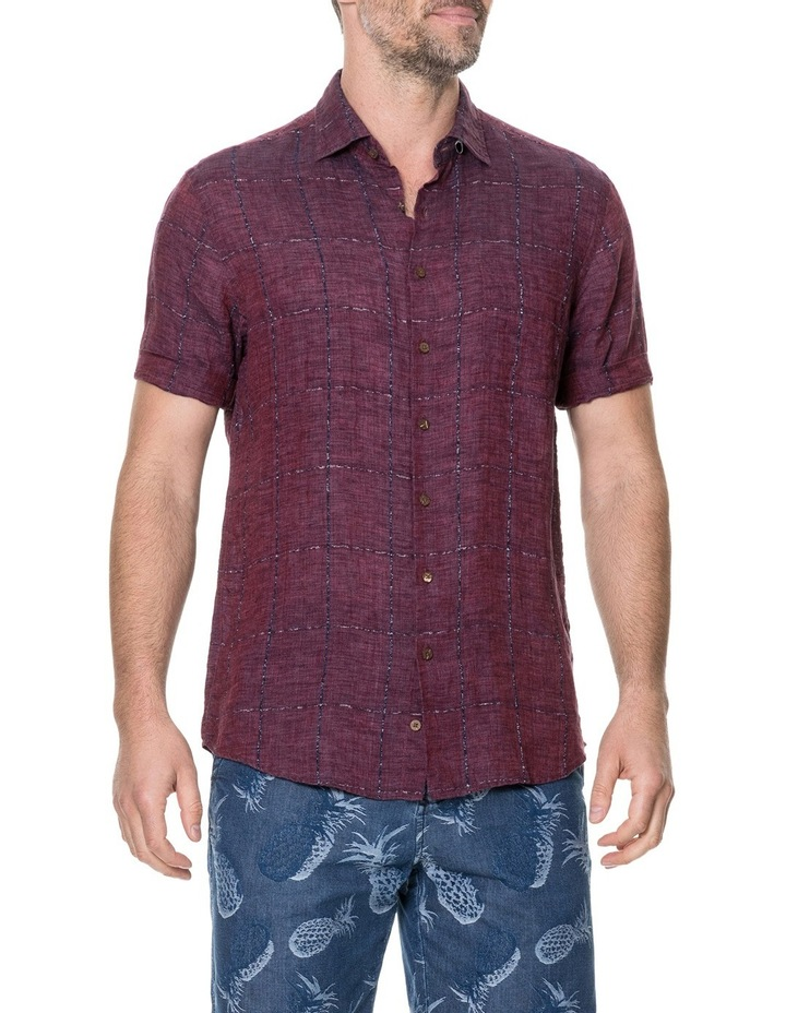 Saddleback Short Sleeve Shirt - Port image 2