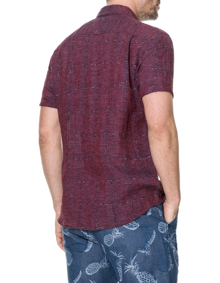 Saddleback Short Sleeve Shirt - Port image 3