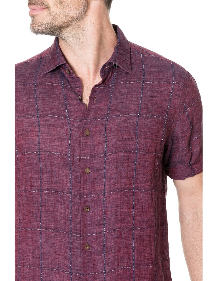Saddleback Short Sleeve Shirt - Port image 4