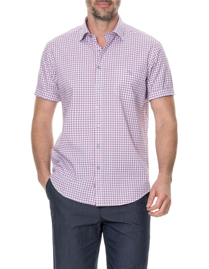 Waterford Short Sleeve Shirt - Mulberry image 1