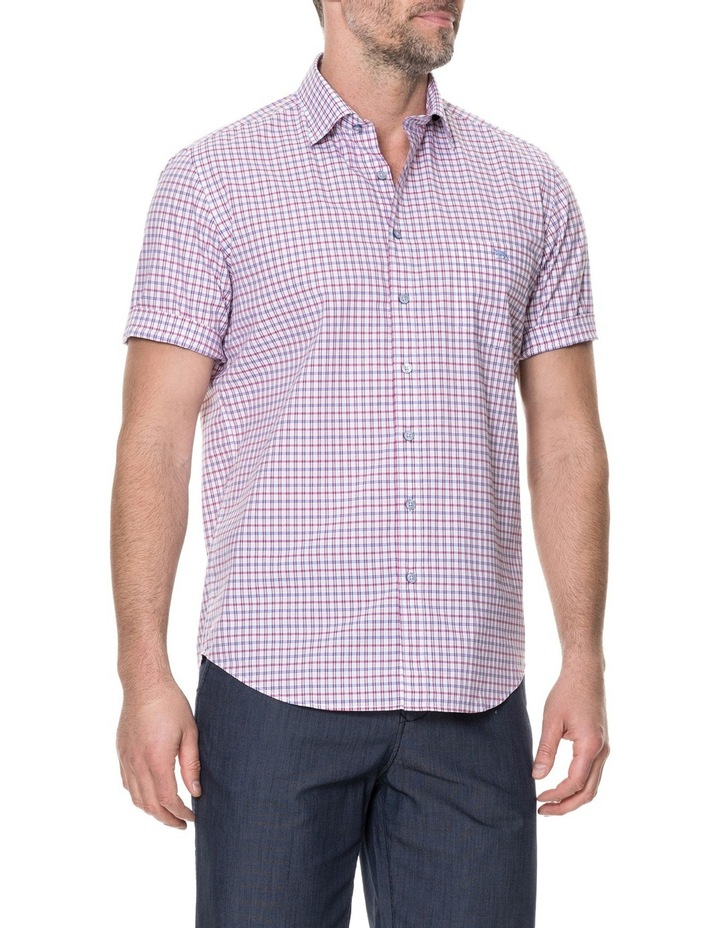 Waterford Short Sleeve Shirt - Mulberry image 2