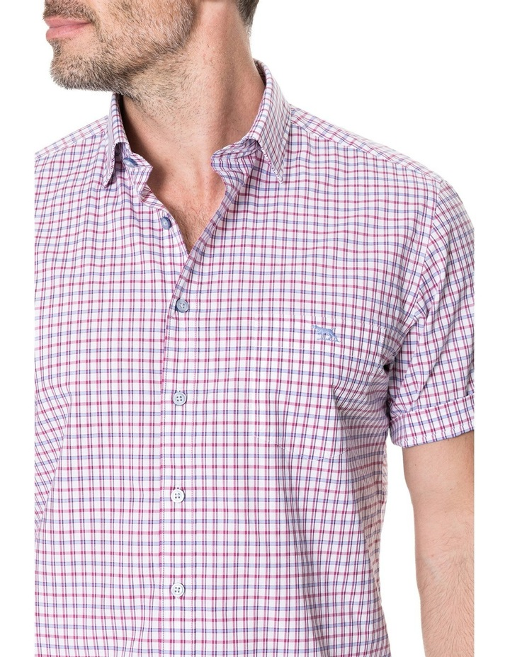 Waterford Short Sleeve Shirt - Mulberry image 4