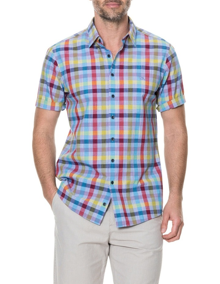 Alpers Short Sleeve Shirt - Chambray image 1