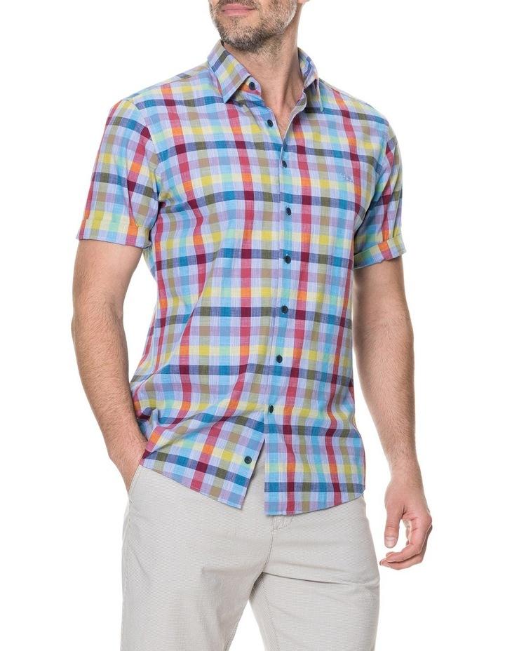 Alpers Short Sleeve Shirt - Chambray image 2