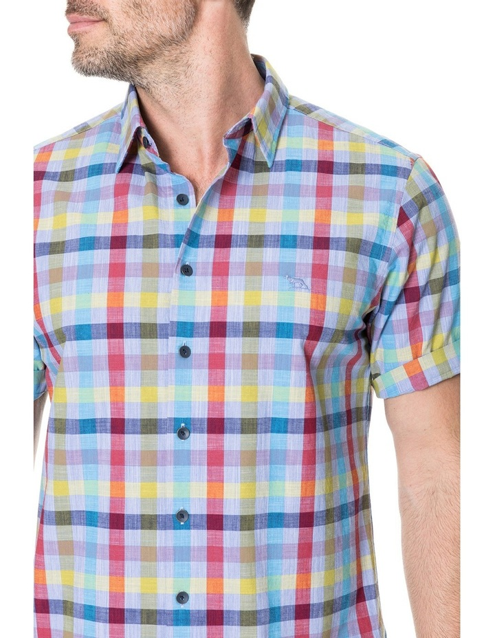 Alpers Short Sleeve Shirt - Chambray image 4