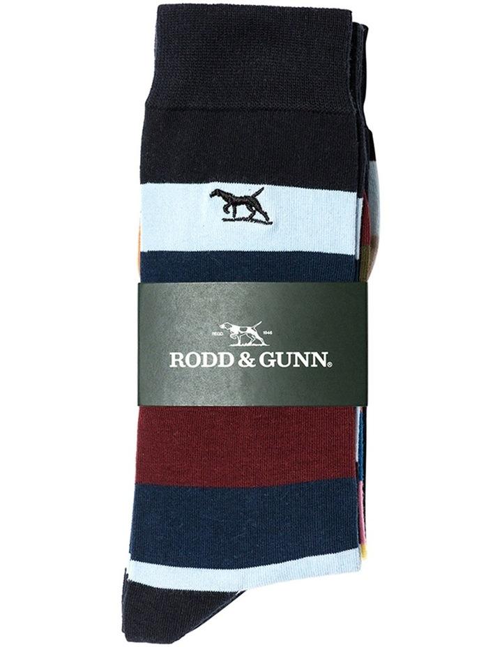 Riverhead Three Pack Sock - Multi image 2