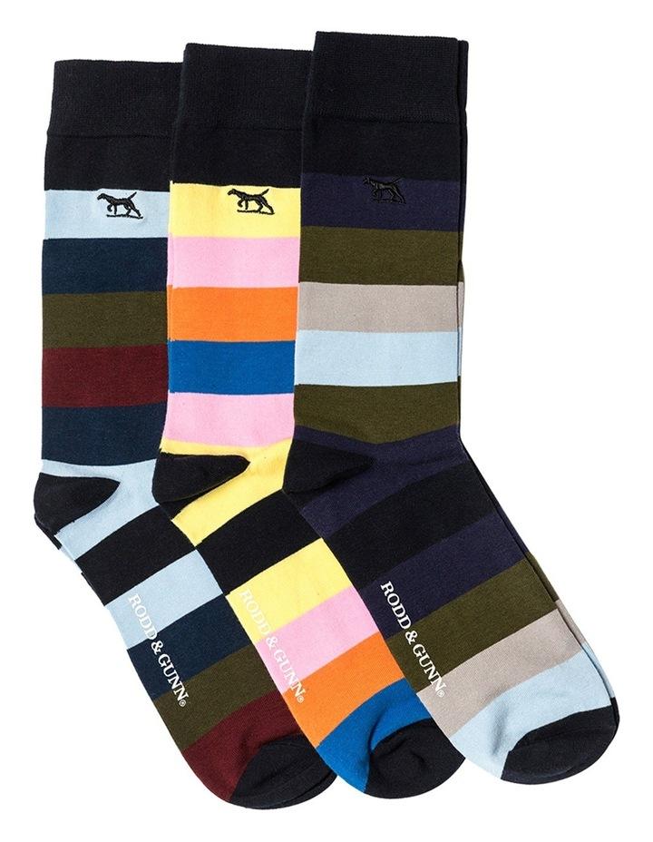 Riverhead Three Pack Sock - Multi image 3