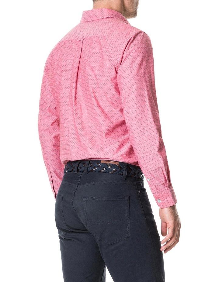 Pottery Lane Long Sleeve Sports Fit Shirt - Watermelon image 2
