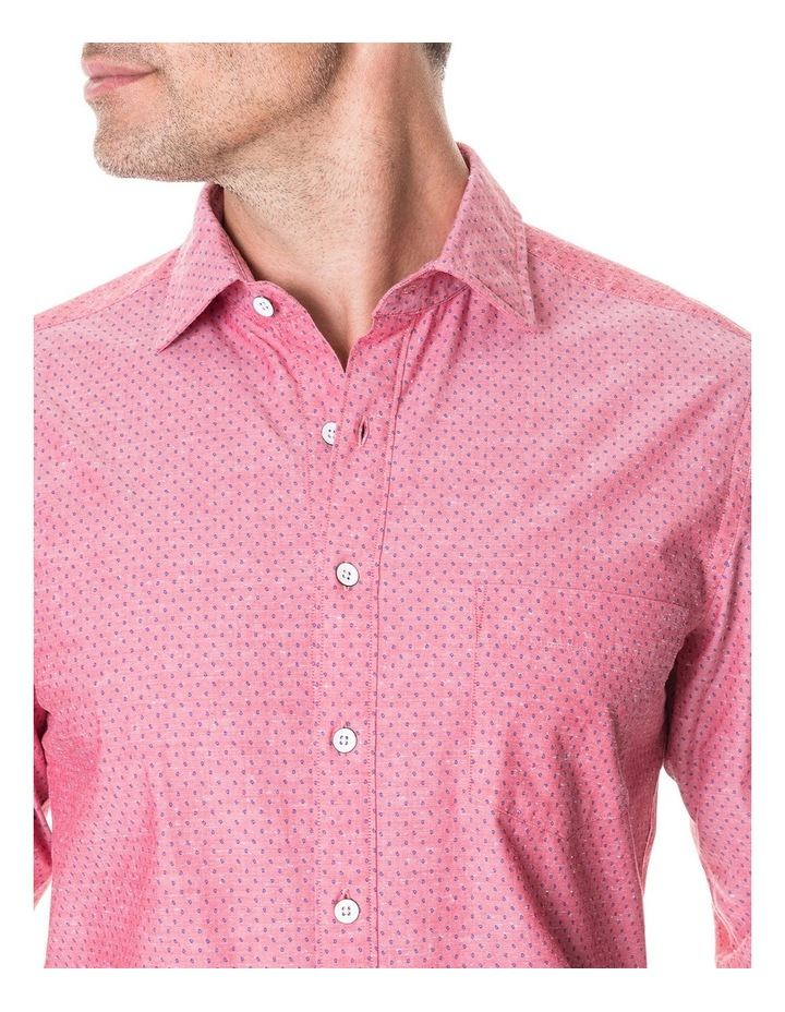 Pottery Lane Long Sleeve Sports Fit Shirt - Watermelon image 3
