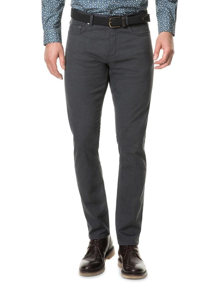 Adams Flat Straight Long Leg Jean - Slate image 1