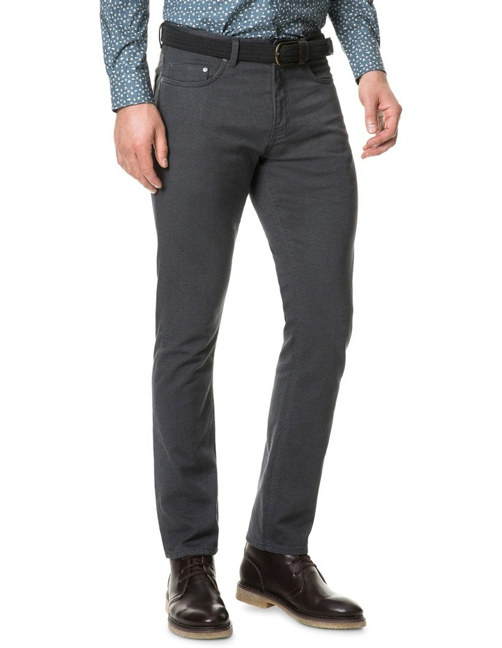 Adams Flat Straight Long Leg Jean - Slate image 2