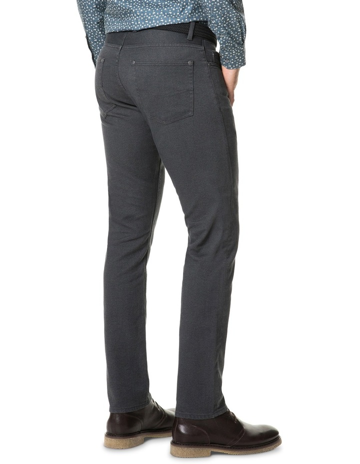 Adams Flat Straight Long Leg Jean - Slate image 3