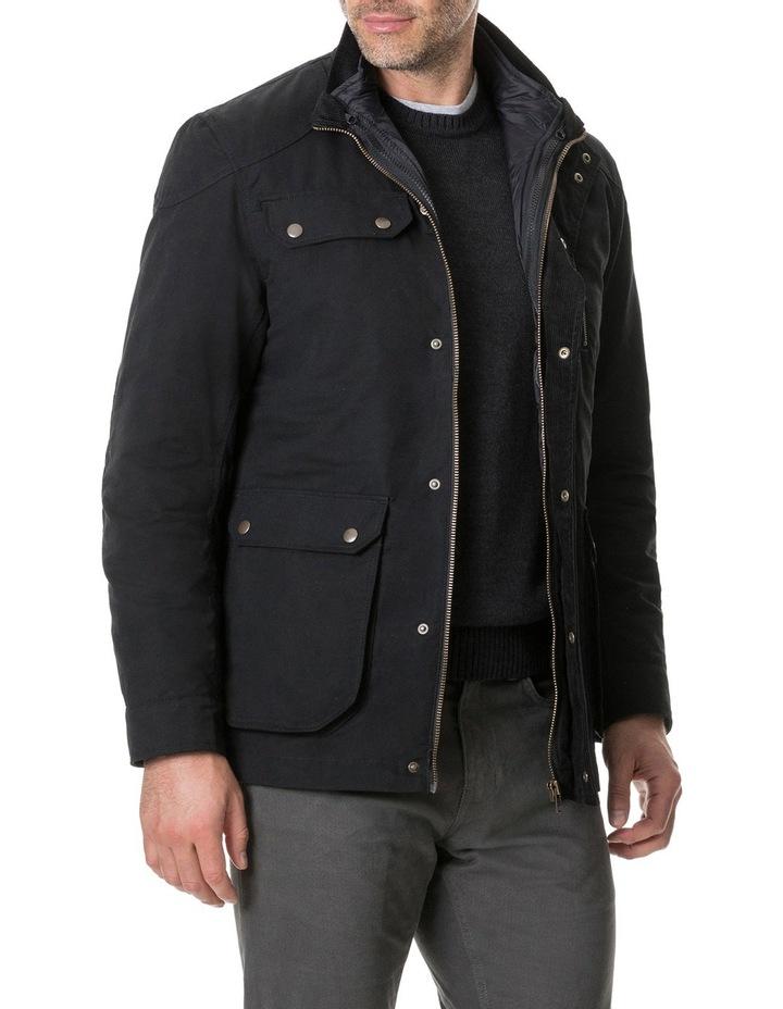 Harper Waxed Jacket - Onyx image 2