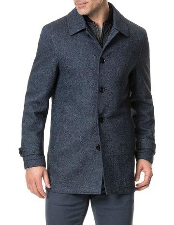 161634119da994 Rodd & Gunn Balmoral Forest Coat - Peacoat