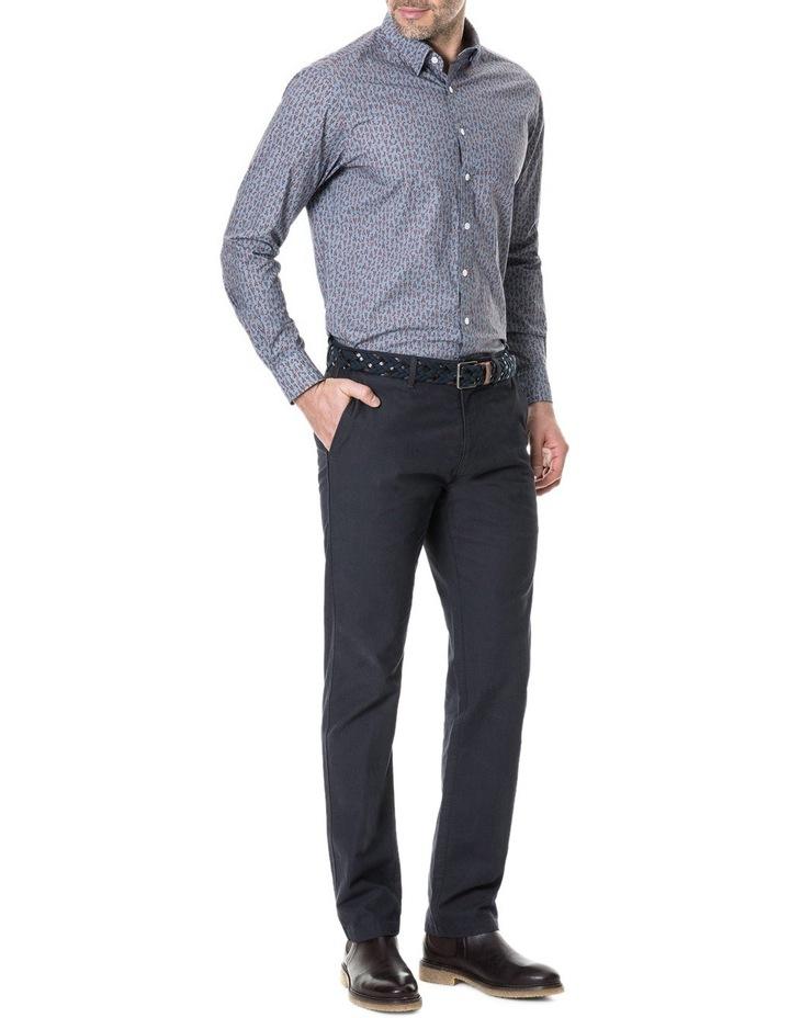 Armour Long Sleeve Sports Fit Shirt - Bluestone image 5