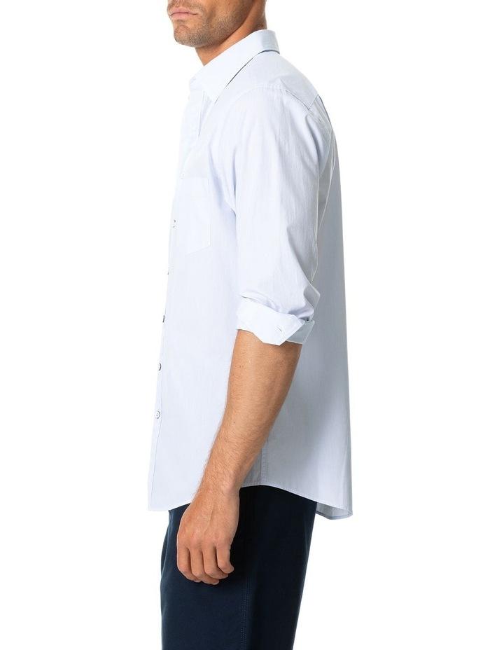 Four Peaks Long Sleeve Sports Fit Shirt - Sky image 2