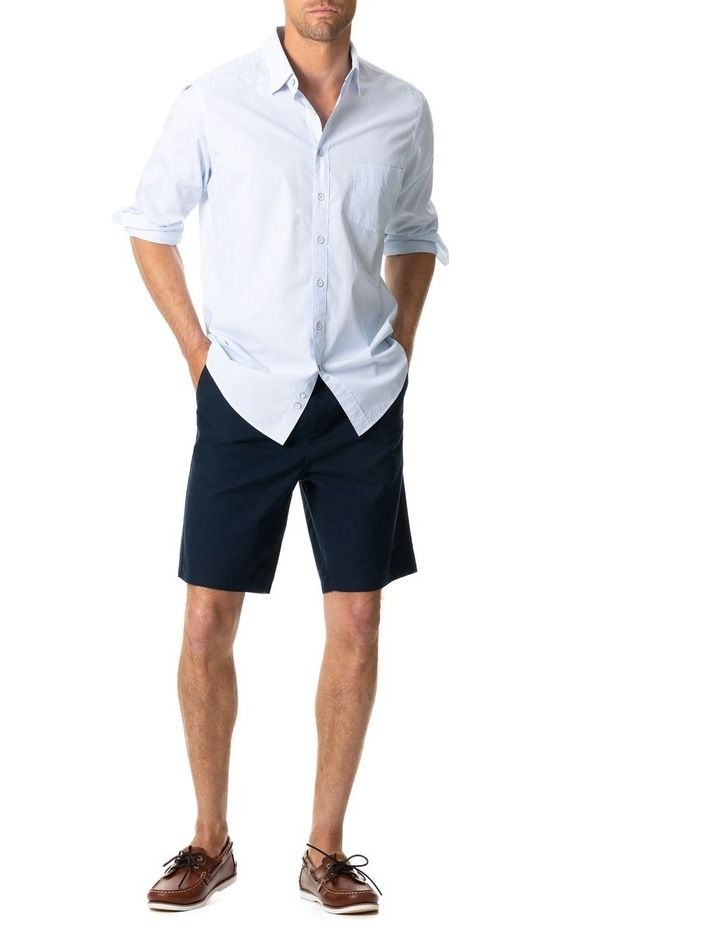 Four Peaks Long Sleeve Sports Fit Shirt - Sky image 3
