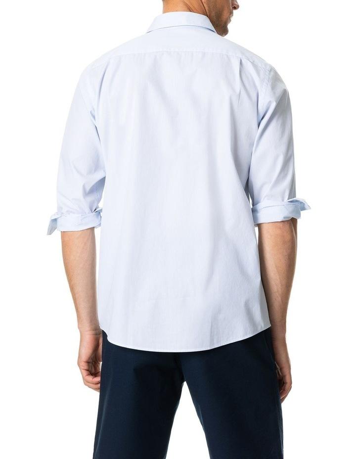 Four Peaks Long Sleeve Sports Fit Shirt - Sky image 4
