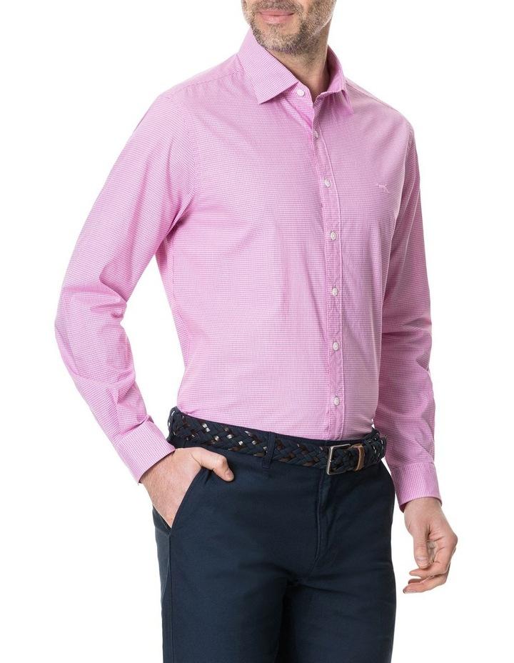Glenrock Long Sleeve Shirt - Fuchsia image 2