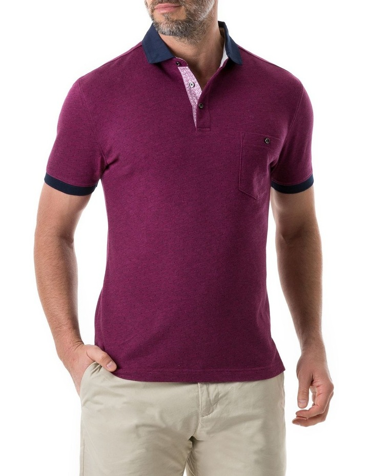 Gap Road Sports Fit Polo - Cerise image 1