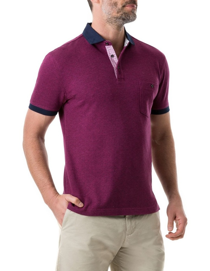 Gap Road Sports Fit Polo - Cerise image 2