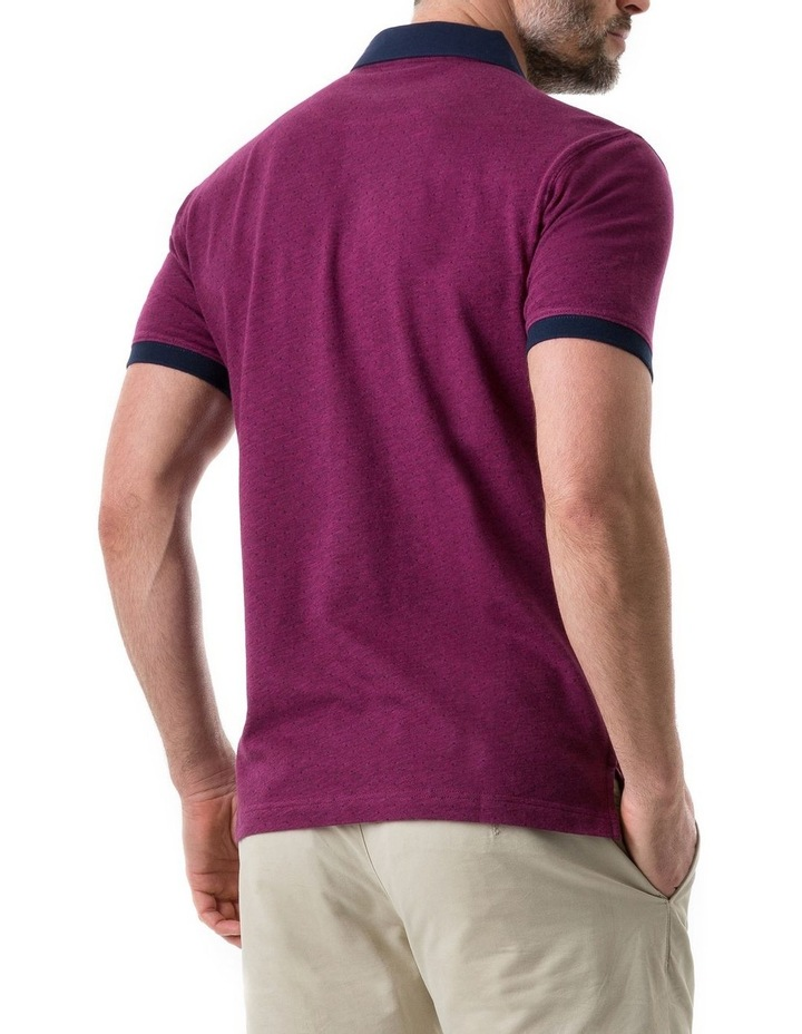 Gap Road Sports Fit Polo - Cerise image 3