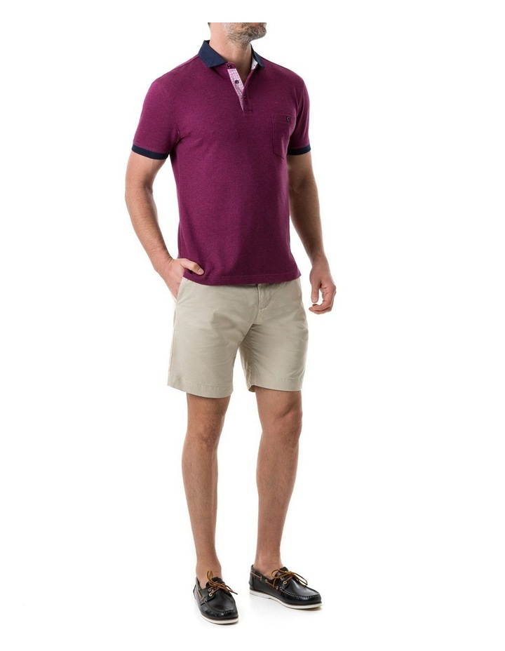 Gap Road Sports Fit Polo - Cerise image 4
