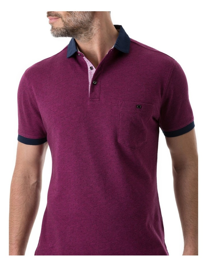 Gap Road Sports Fit Polo - Cerise image 5