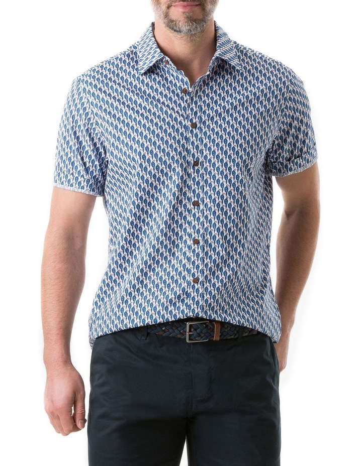 Amritsar Short Sleeve Shirt - Bluebell image 1