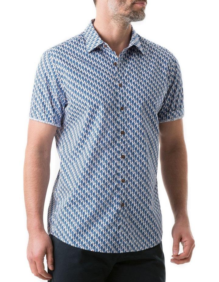 Amritsar Short Sleeve Shirt - Bluebell image 2