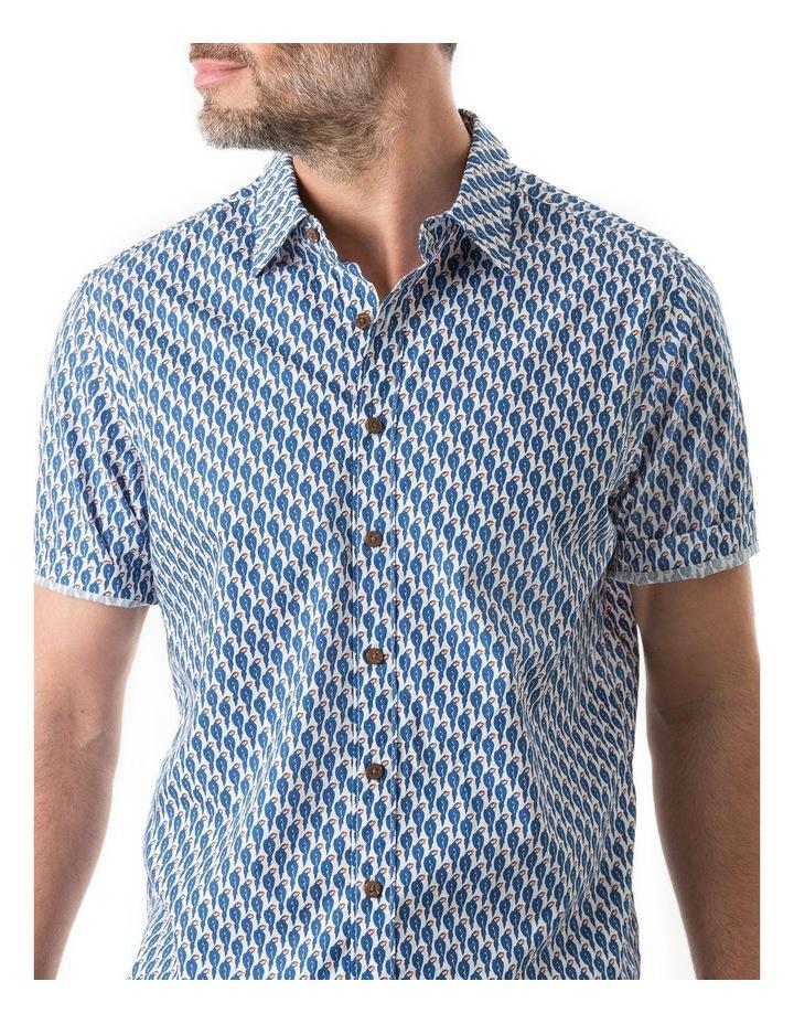 Amritsar Short Sleeve Shirt - Bluebell image 5
