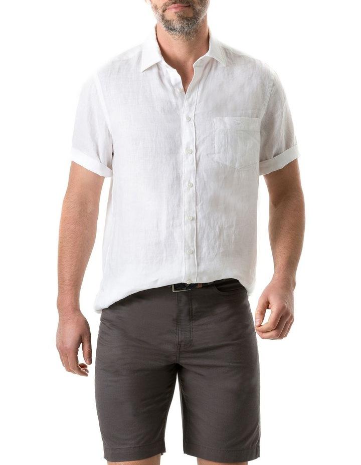 Seacliff Short Sleeve Shirt - Snow image 1