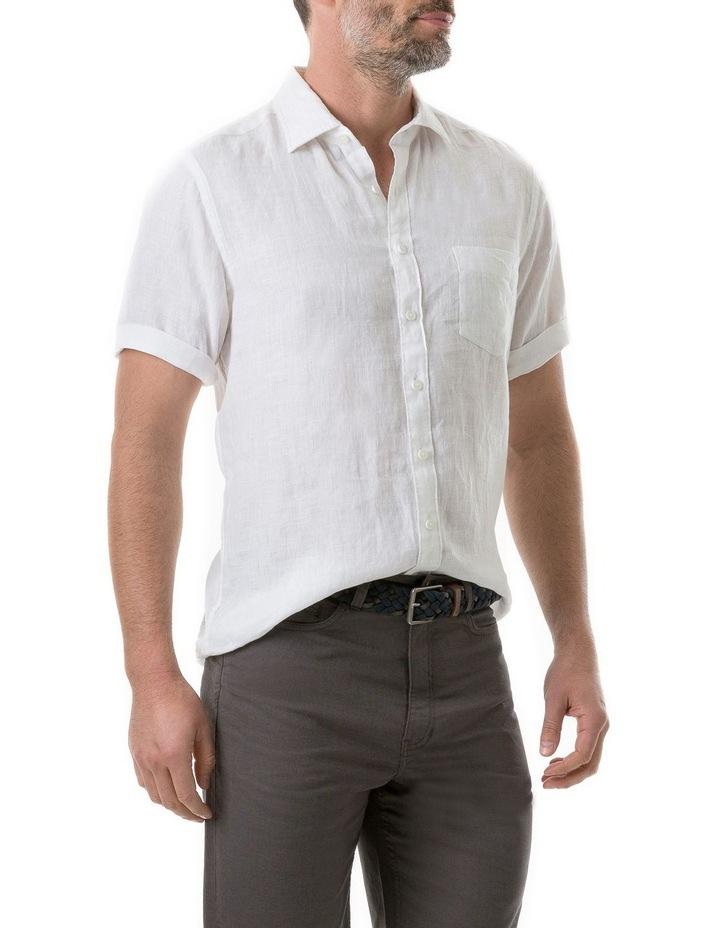 Seacliff Short Sleeve Shirt - Snow image 2