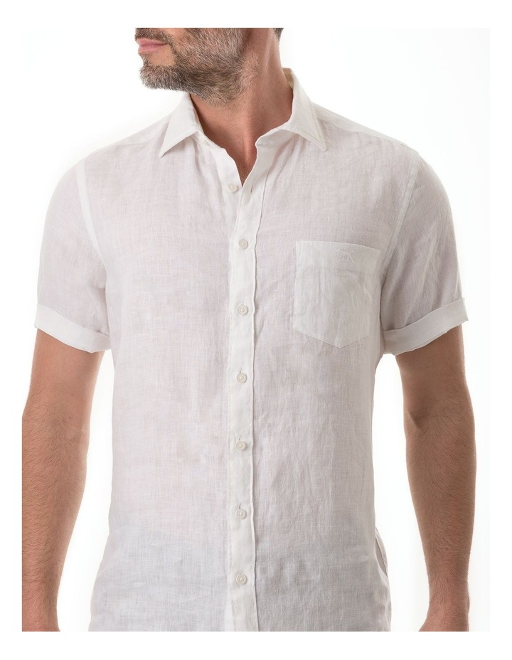 Seacliff Short Sleeve Shirt - Snow image 4