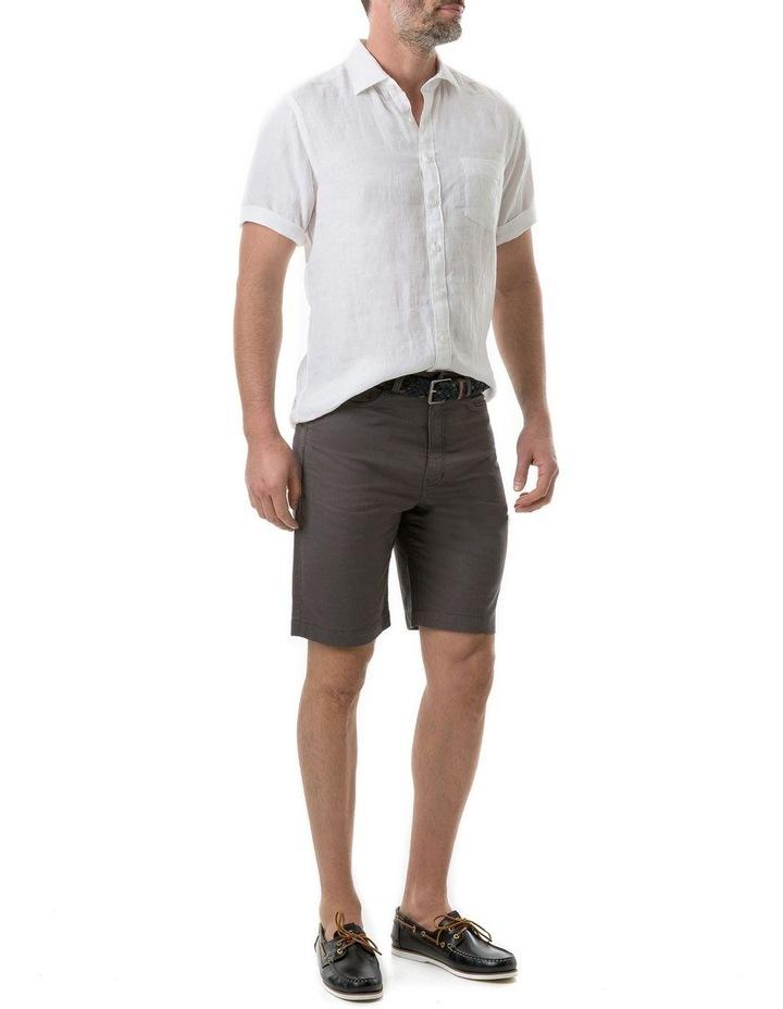 Seacliff Short Sleeve Shirt - Snow image 5