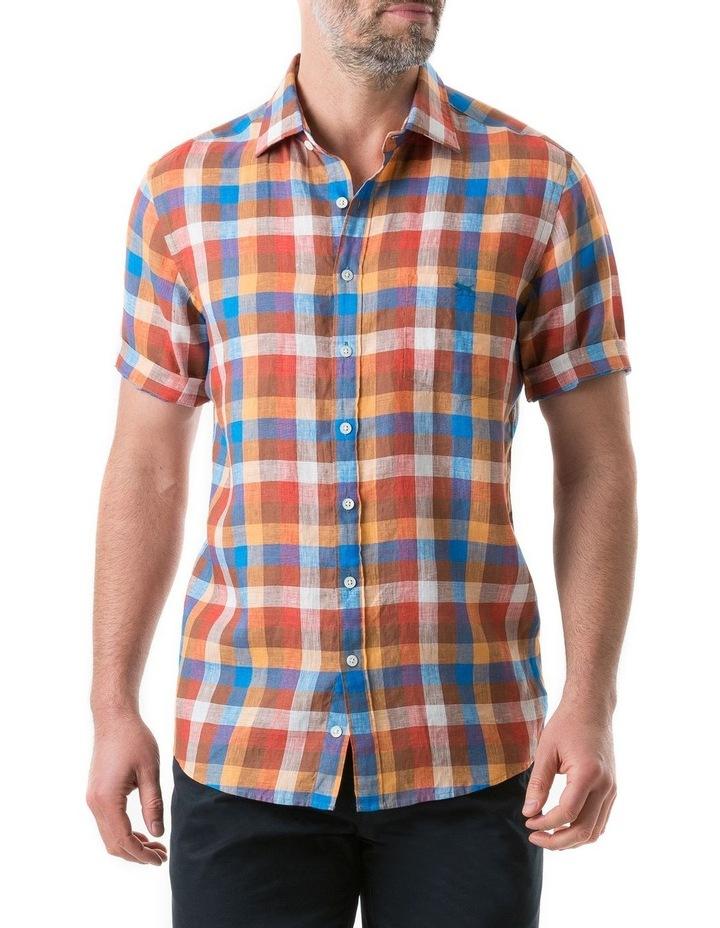 Carrick Short Sleeve Shirt - Ochre image 1