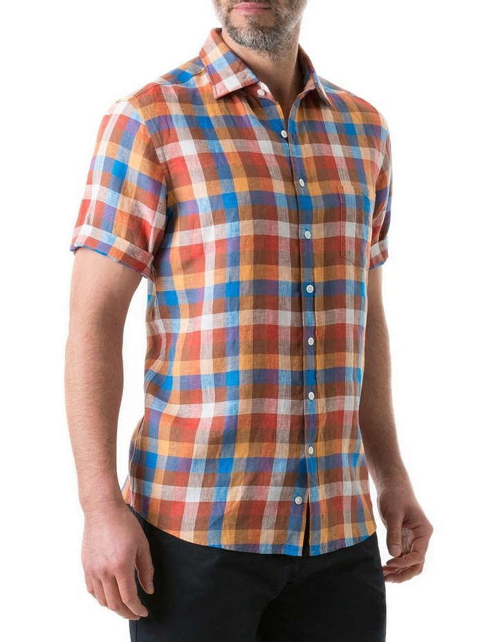 Carrick Short Sleeve Shirt - Ochre image 2