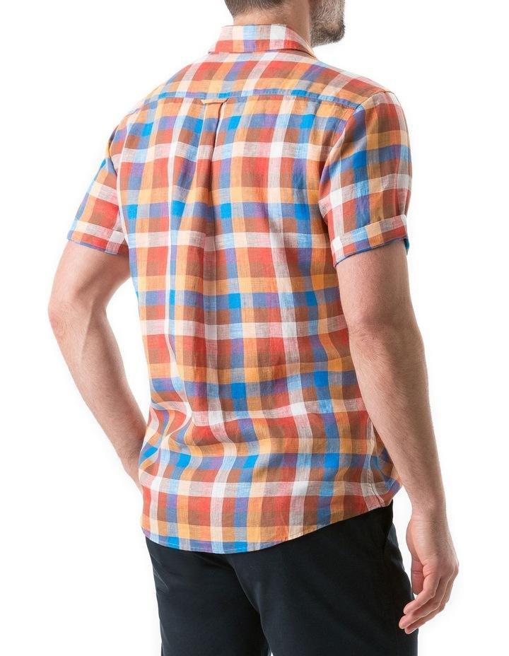 Carrick Short Sleeve Shirt - Ochre image 3