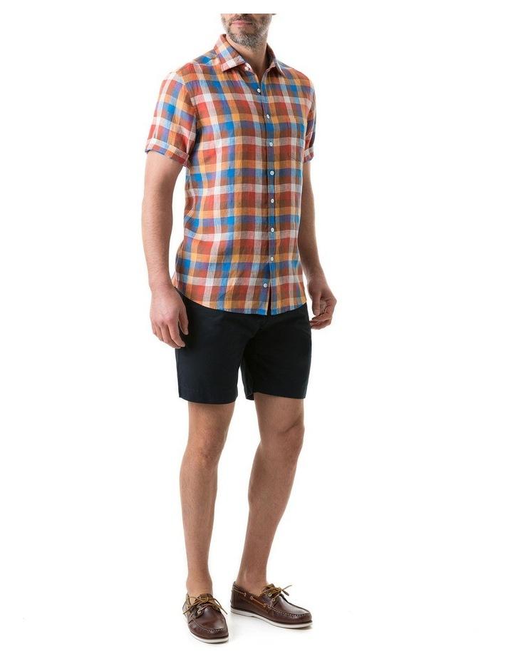 Carrick Short Sleeve Shirt - Ochre image 4