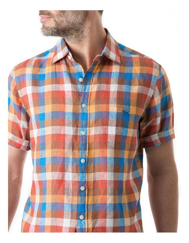 Carrick Short Sleeve Shirt - Ochre image 5