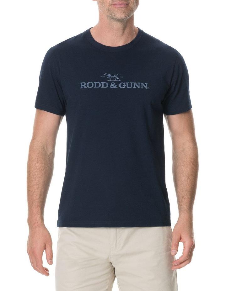 Logo T-Shirt - True Navy image 1