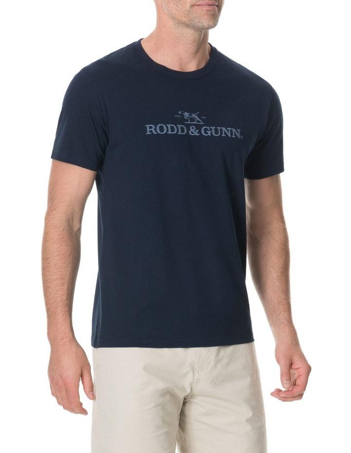 Camp Bay T-Shirt - True Navy image 2