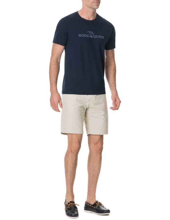 Camp Bay T-Shirt - True Navy image 3