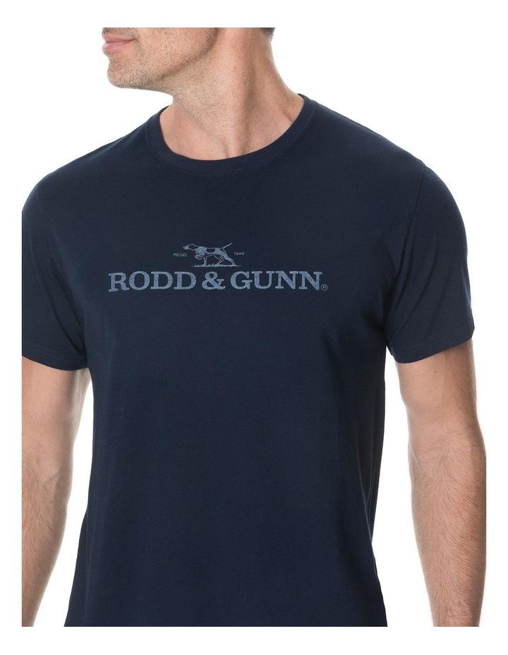 Logo T-Shirt - True Navy image 4