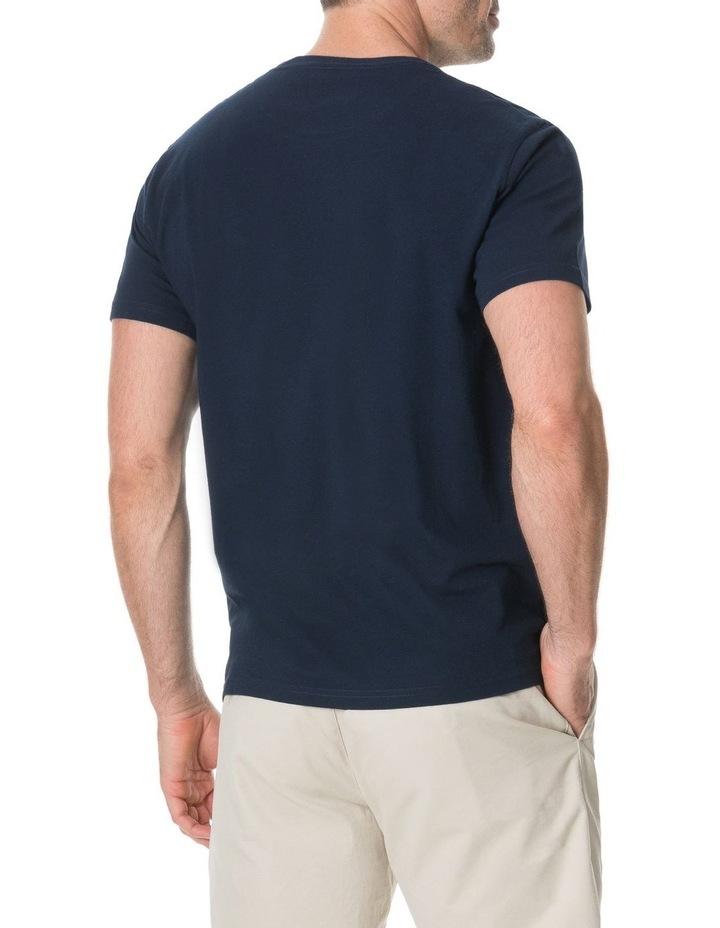 Logo T-Shirt - True Navy image 5