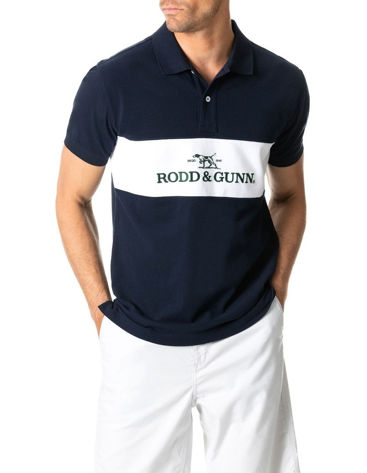 Ealing Sports Fit Polo - True Navy image 1